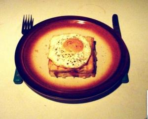 Eggs Baked In A Dish