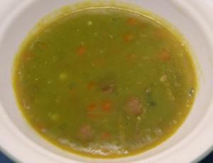 Baked Split Pea Soup