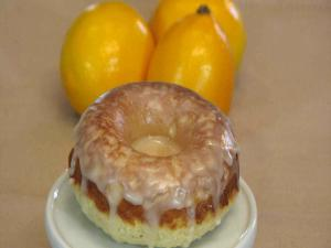 Meyer Lemon Baked Doughnuts