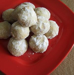 Brazil Nut Snowballs