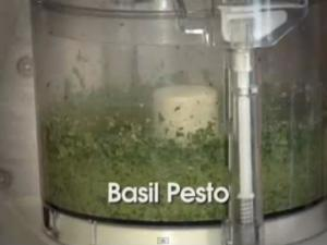 HarvestEating.com Cooking Video- Basil Pesto