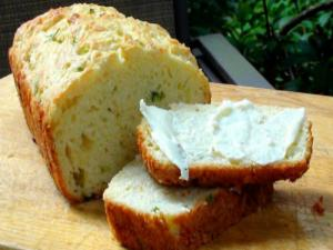 Easy Cheese and Onion Quick Bread
