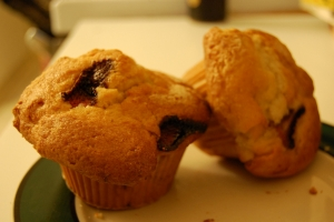 Super Strawberry Or Raspberry Muffins