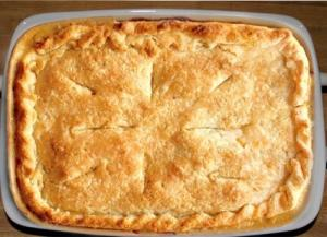 Green Chile Turkey Pot Pie
