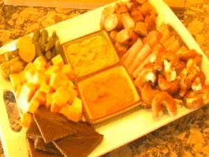 Party Platter For Oktoberfest