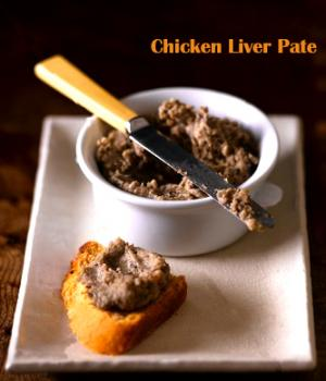 Russian Chicken Liver Pâté