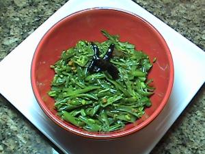 Green Beans With Shredded Coconut