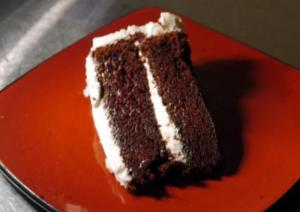 Microwave Devil'S Food Cake