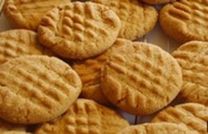 Crunchy Peanut Butter Cookies