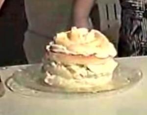 Fast Cream Cake