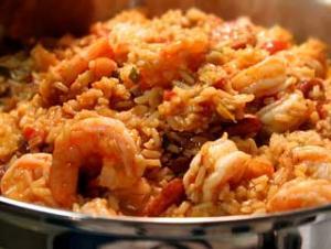 Shrimp & sausage jambalaya