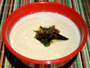 Peanut Onion Chutney - Chutney for Idli, Dosa, Upma