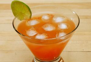 Orange Blossom Using Grenadine Syrup