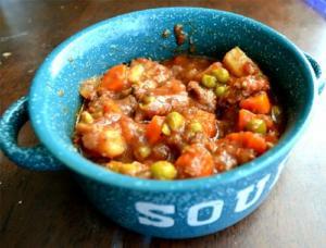 Veal Stew Marsala