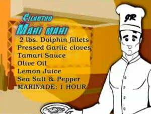 "Johnny Rich Health Show ""No Excuses"" Segment: Mahi Mahi Recipe"