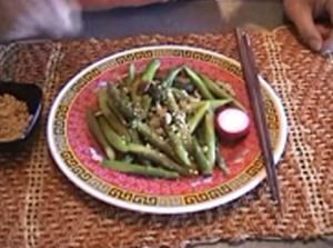 Asparagus With Sweet Pungent Dressing