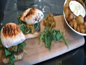 Chicken & Chorizo Ciabattas