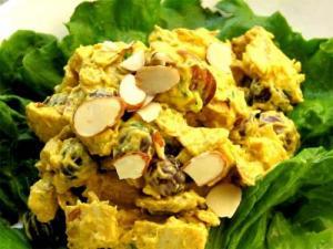 Stuffed Pineapple Buffet Salad