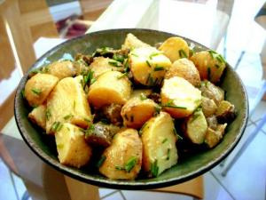 Zingy New Potato Salad