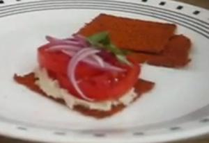 Raw Red Bell Pepper and Almond Crackers - Part 2