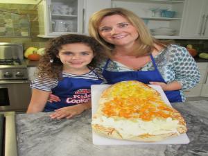Candy Corn Pizza