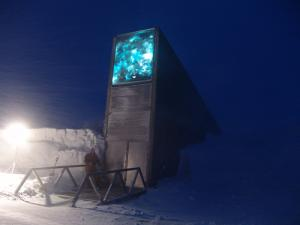 Seed vault as seen from outside.