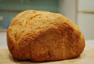 Sourdough Cornmeal Bread