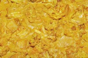 Cauliflower Curry Bake