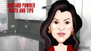 Custard Powder Hints and Tips