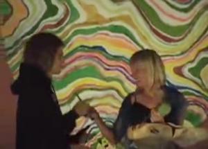 Angela Stokes Receiving Golden Chopstick Award