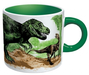 Disappearing Dinosaurs Magic Coffee Mug
