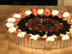 Lemon Tart with Fresh Berries