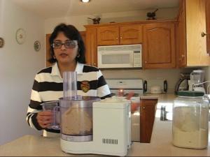 Making Dough - using food processor
