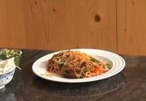Simple Vegetable Chowmein