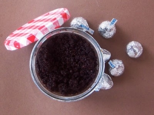 how to make a Chocolate Scrub