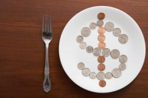 Eating on a tight budget