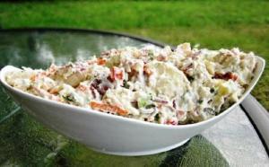 Fruit Of The Season Salad With Honey Cardamom Sauce