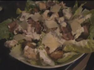 Chicken and Bacon Caesar Salad