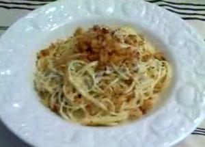 Spaghetti In Creamy White Clam Sauce