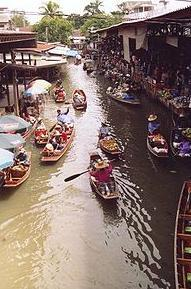 Thai Khlong Floating Markets