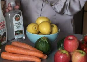 Ways To Wash Fruit & Vegetables