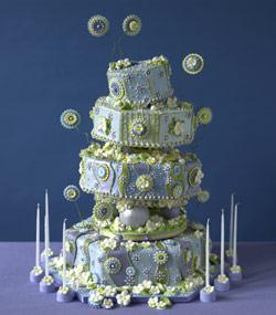 How To Assemble A Topsy-Turvy Cake