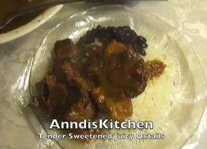 Tendered and Sweetened Oxtail Curry
