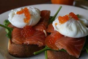 Finnan Haddock With Poached Eggs