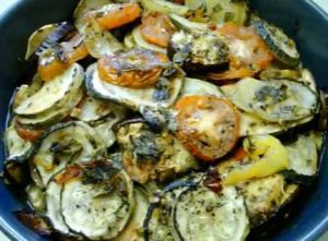 Greek Zucchini and Potato Bake