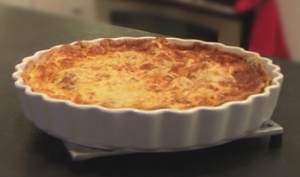 "How to make a ""French Quiche Lorraine"""