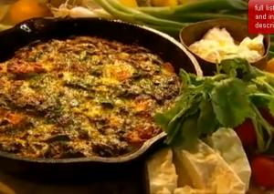 Delicious Spinach Frittata