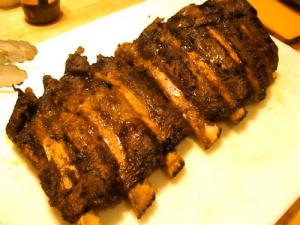 Honey Mustard Beef Ribs