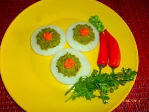 Baby Uttapams with a Spicy Twist