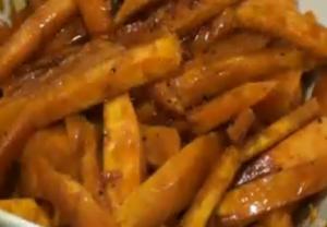 Roasted Molasses Sweet Potatoes